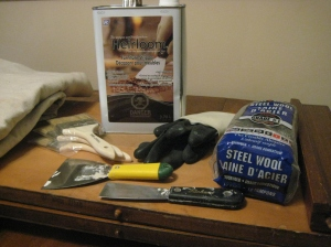 Heirloom Furniture stripper and tools